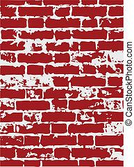 Breck texture - Stone texture. Vector illustration.
