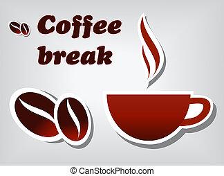 breken, koffie