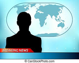 brekend nieuws, tv