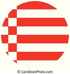 Bremen flag vector