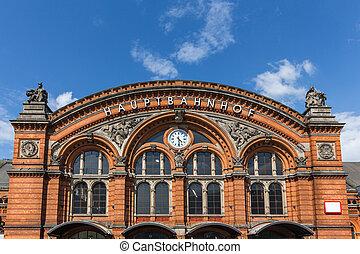 bremen germany central station