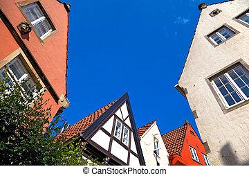 Bremen-Schnoor, Germany.