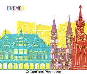 Bremen skyline pop