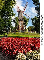 Bremen Windmill Germany