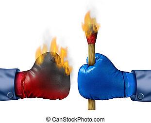 brennender, der, konkurrenz