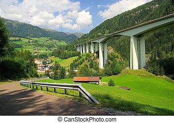 Brennerautobahn 01