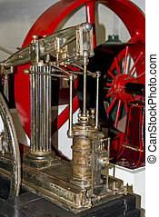 Bressingham Steam & Gardens is a steam museum and gardens located at Bressingham, west of Diss in Norfolk, England - Photo taken on 7 of October 2017