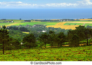 bretagne, paysage