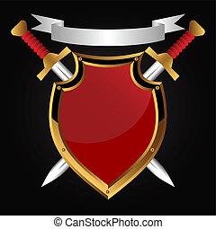 brett, und, sword.