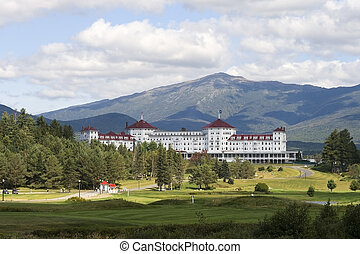Mount Washington Hotel - BRETTON WOODS, USA-SEPT 11: The...