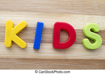 "brev, magneter, ""kids"""
