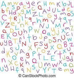 breven, färgrik