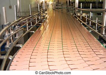 Brewery conveyor