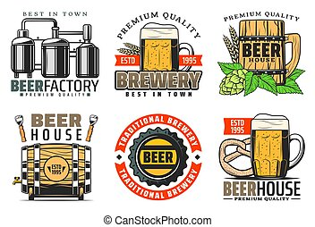 Brewery factory premium quality beer house