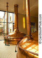 brewery - Old style of brewing beer.