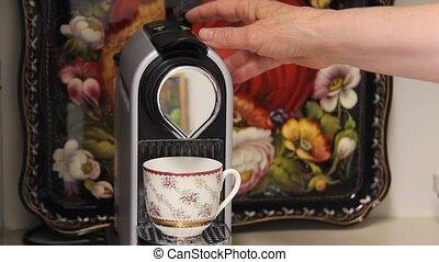 Brewing   - Espresso coffee brewing