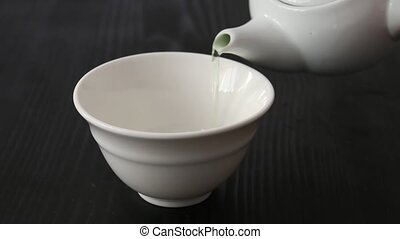 Brewing Japanese green tea