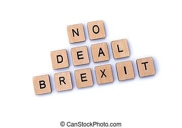 brexit, 取引, いいえ