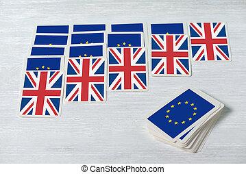brexit, begriff, auf, konvergieren, wille, referendum, ...