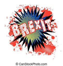 Brexit Comic Exclamation