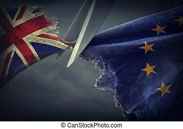 brexit, concept