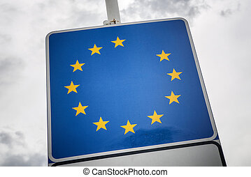 Brexit. European union without Great Britain