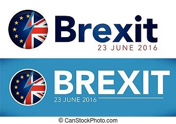 brexit, immagine, referendum, testata, regno unito, 2016