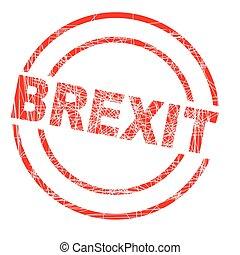Brexit Ink Stamp