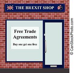 brexit, laden