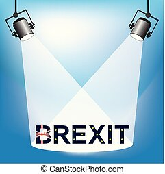 Brexit Lamp - Representation of Brexit being under the...