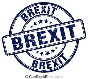 Brexit stamp