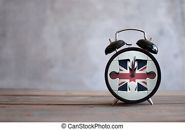 Brexit time pressure - Clock with missing piece from a ...