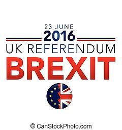 BREXIT UK Referendum Header Graphic