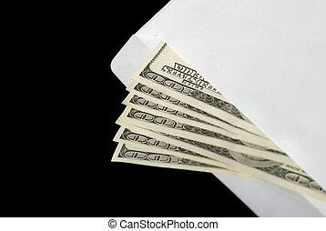 Bribe in an envelope