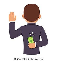 Bribery and corruption in business or politics - Corrupt...