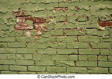 Brick Corner Background Inside Corner Of An Old Brick