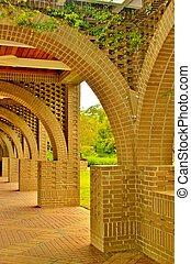 Brick arch 5