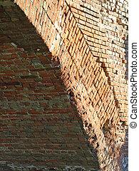 Brick arch.