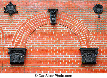 Brick arch ornaments