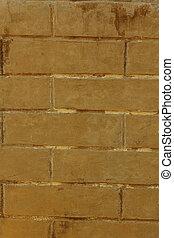 Brick brown background