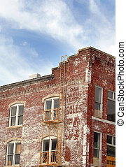 "Brick Buidling Redo - Old buildings in ""Old Town"" in Wichita..."