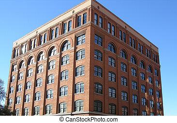 Brick Building - Brick office building
