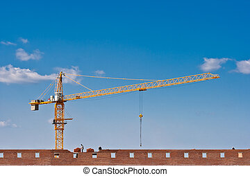 Brick building construction