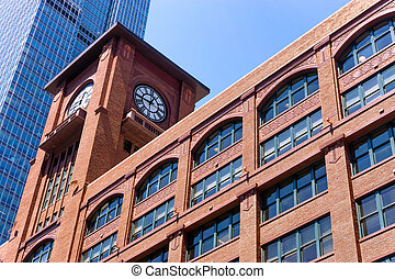 Brick Building in Chicago