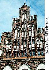 Brick building in Germany