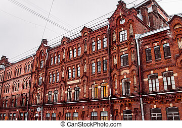 brick building on Dostoevskogo street
