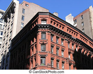 brick building - Brick building, New York