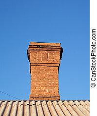 brick chimney house