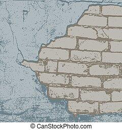 Brick Damaged Color