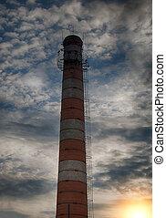 brick factory chimney